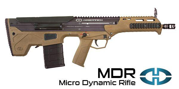Desert Tech MDR interchangeable caliber bullpup rifle