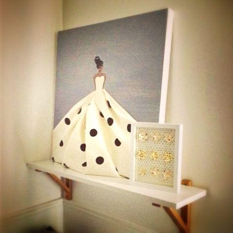 #shenasiconcept Custom designed artwork for #girlsroom. Also available for…
