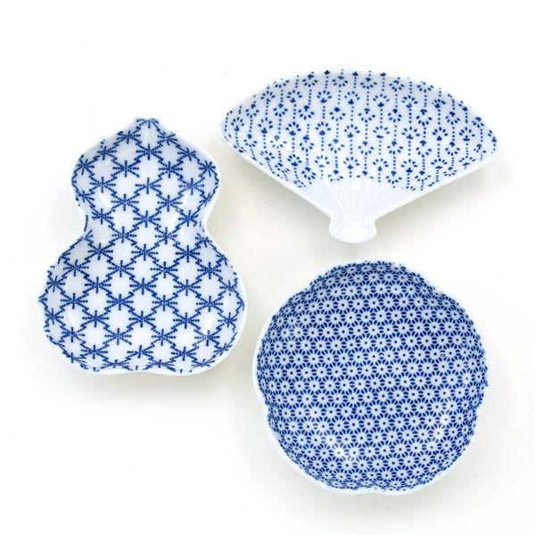 印判豆皿 / small plates