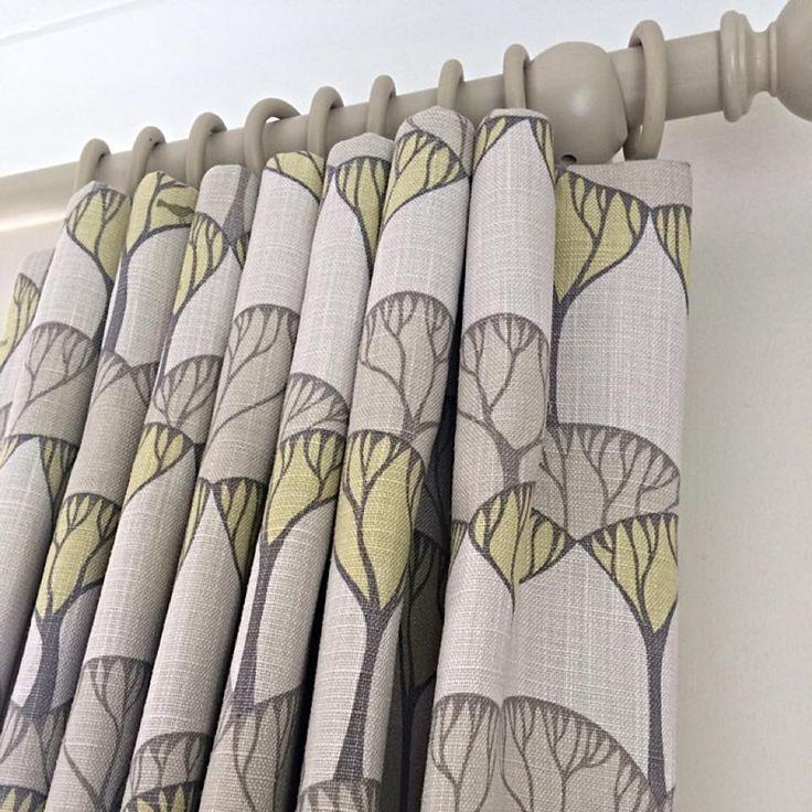 Cartridge pleats in a Villa Nova fabric