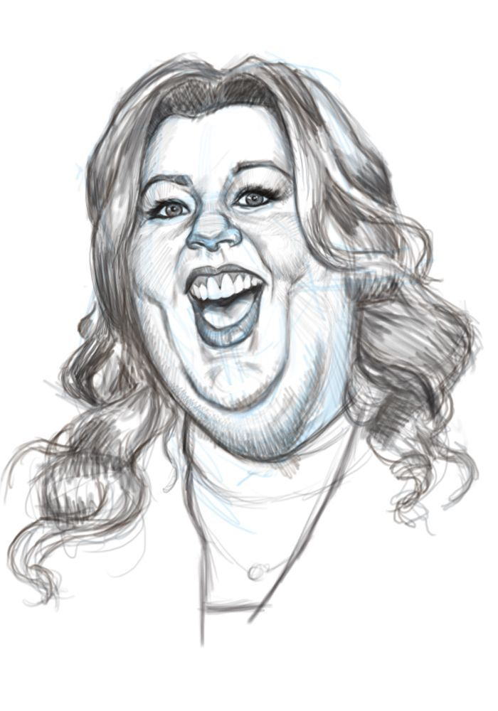 caricature drawing melissa mecartny - Google Search