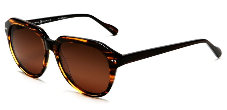 Polarized Jackie O' Classic Fashion Sunglasses Orange Brown