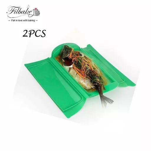 Degusta+ Exquisitos Platos y Tapas: 2 Vaporeras. Olla a Presión para Microondas