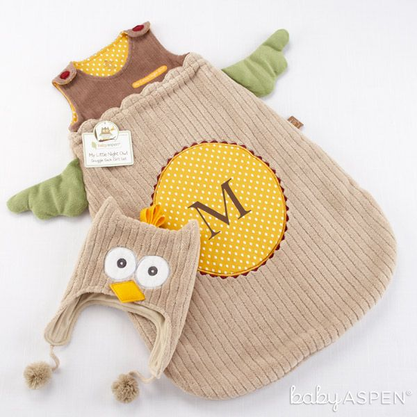90 best woodland theme baby shower images on pinterest my little night owl snuggle sack and cap personalization available negle Images