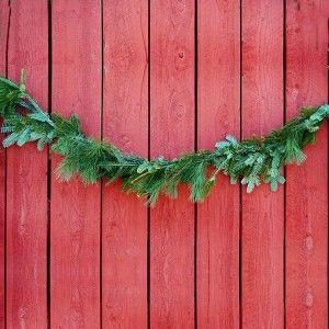 fraser fir garland white pine garland