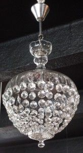 Four Year Fabulous - Provenance Auction House: An Austrian Crystal and Cut Glass Pendant Light.