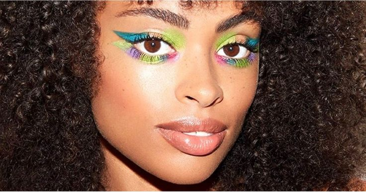 Colorblocking Is the Latest Insta Beauty Trend, and We Can't Look Away