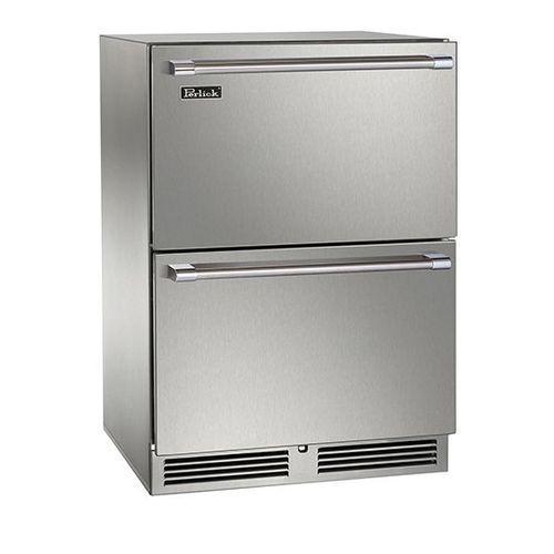 Perlick 24  Built-in Dual Zone Freezer/Refrigerator Drawers