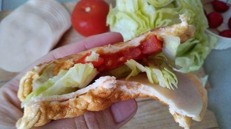 Felhőkenyér recept (felhőlángos, felhő palacsinta) készítése képekkel, lépésről lépésre! Kalóriaszegény, szénhidrátmentes kenyér recept fogyókúrázóknak! >>>