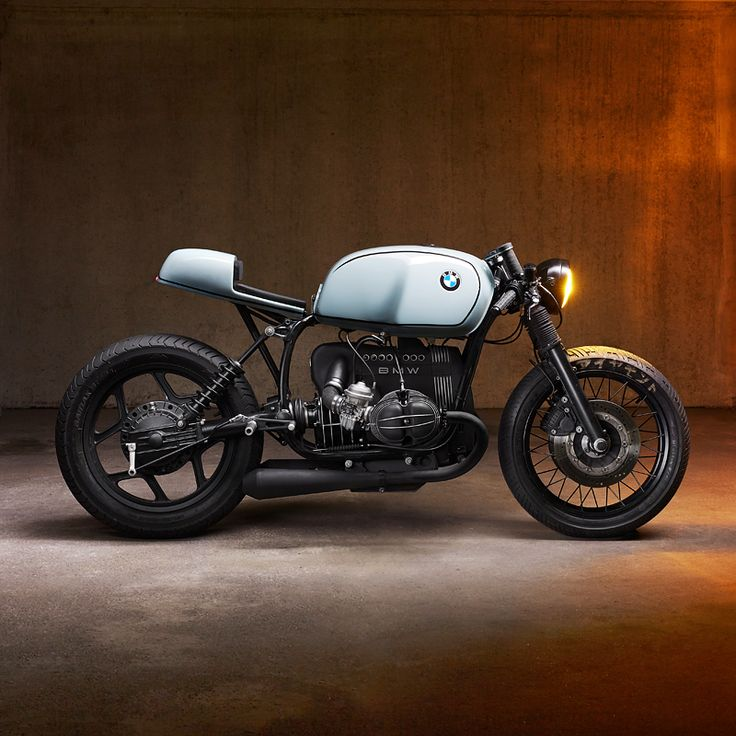 The BMW R80 gets a double shot of café style. Tremendous work from new Munich-based shop Diamond Atelier.