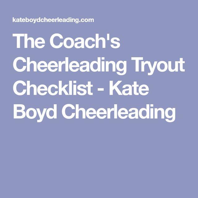 Best  Cheerleading Tryouts Ideas On   Cheerleading