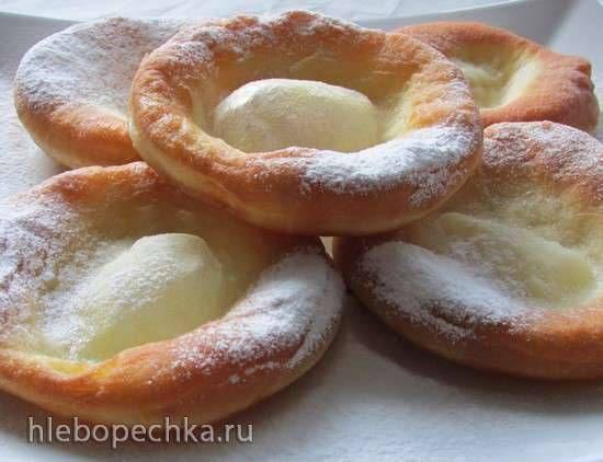 Немецкие пончики Kniekuchle