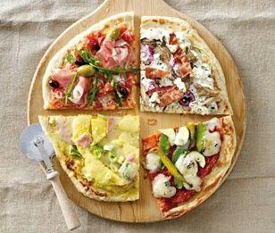 Das Rezept für Fladenbrotpizza Puten-Ananas und weitere kostenlose Rezepte auf LECKER.de
