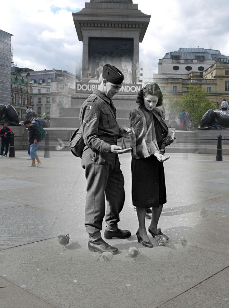 My WW2 Ghost images (Re-Photography) | Time after Time ...