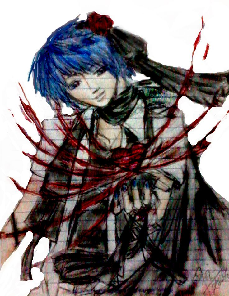 fanart for kaito  the lost memory version by 7oi