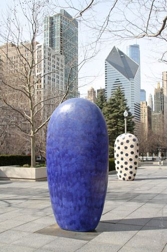 Dangos - by Jun Kaneko: