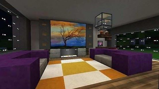 Inside house ideas for minecraft