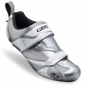 Giro Tri Cycle Cleats Mens Silver Fiber - ONLY $199.99