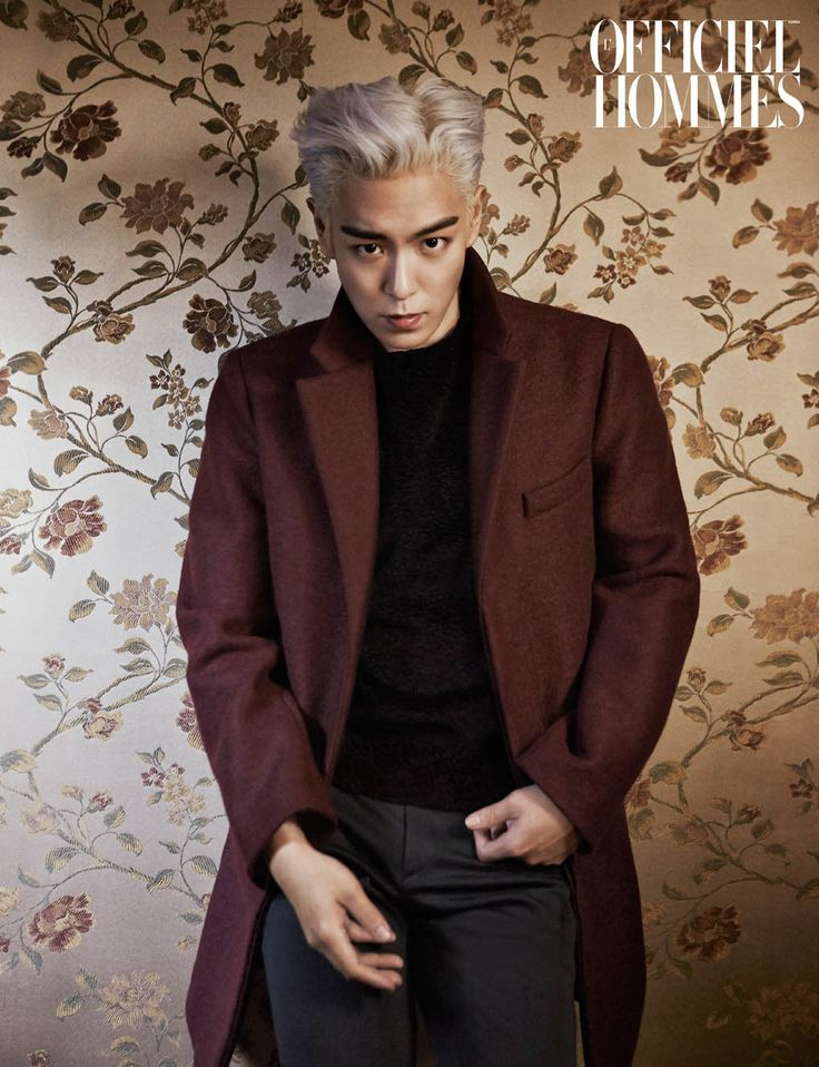 TOP - L'Officiel Hommes Magazine January Issue '15