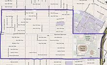 Map of Exposition Park neighborhood of Los Angeles California - Exposition Park, Los Angeles - Wikipedia