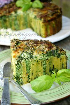 Gâteau de Cannelloni aux Epinards et Ricotta