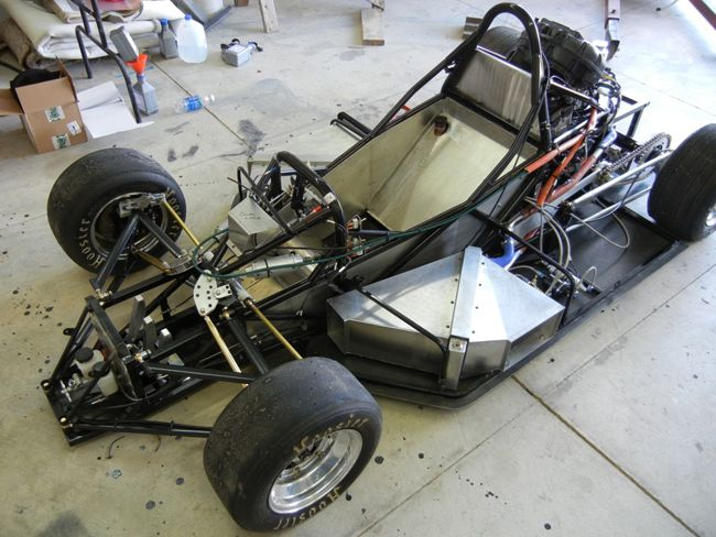 Custom chassis go kart the fabrication forums for Motor vehicle suspension nj