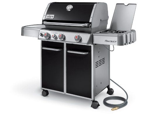 Special Offers - Weber Genesis 6631001 E-330 637-Square-Inch 38000-BTU Natural-Gas Grill Black - In stock & Free Shipping. You can save more money! Check It (April 15 2016 at 12:10PM) >> http://outdoorgrillsusa.net/weber-genesis-6631001-e-330-637-square-inch-38000-btu-natural-gas-grill-black/