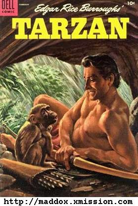 Love me some Tarzan; any format, and style...a buff, sweaty man alone in the jungle living wild and wearing (barely) a loincloth...works for me!