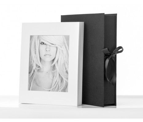 "Folio Box for 8x12"" Prints: Eclipse - Seamless"
