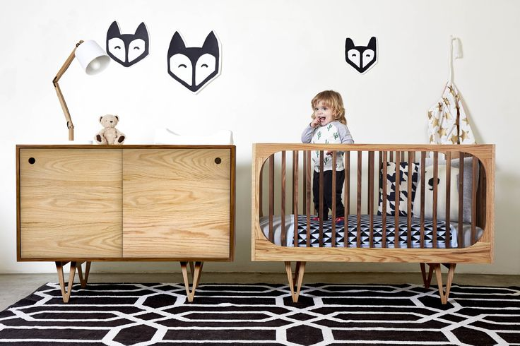 HARRISON NURSERY SET: Always ready, always willing to host a journey through time and space where your little one, the hero of dreams, can go forth to make discoveries that will stun and amaze. Hand crafted from solid wood, it combines modern vintage design with the intrinsic beauty of wood. For info and prices email: info@bunnyandclyde.co.za