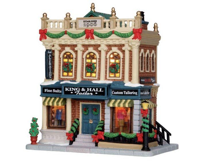48 best Lemax Christmas Village images on Pinterest | Christmas ...