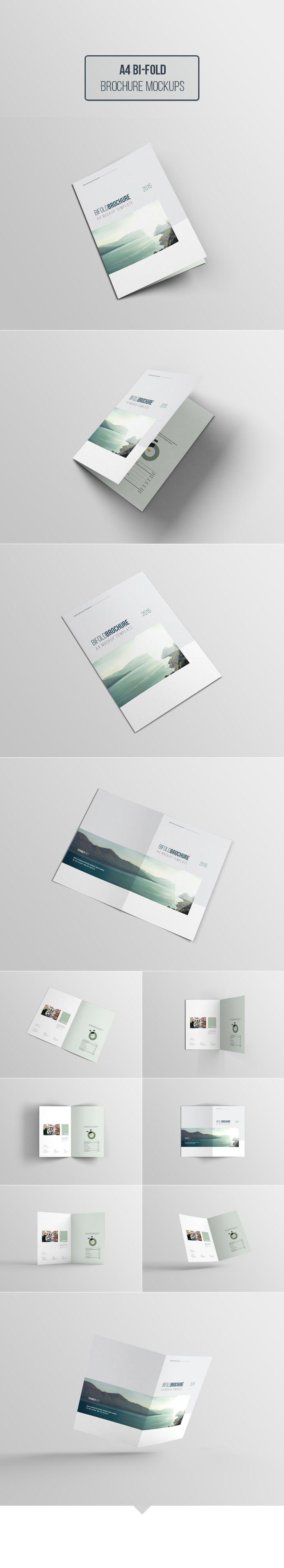 Free A4- Bifold Brochure Mockup  https://www.behance.net/gallery/22125999/Free-A4-Bifold-Brochure-Mockup