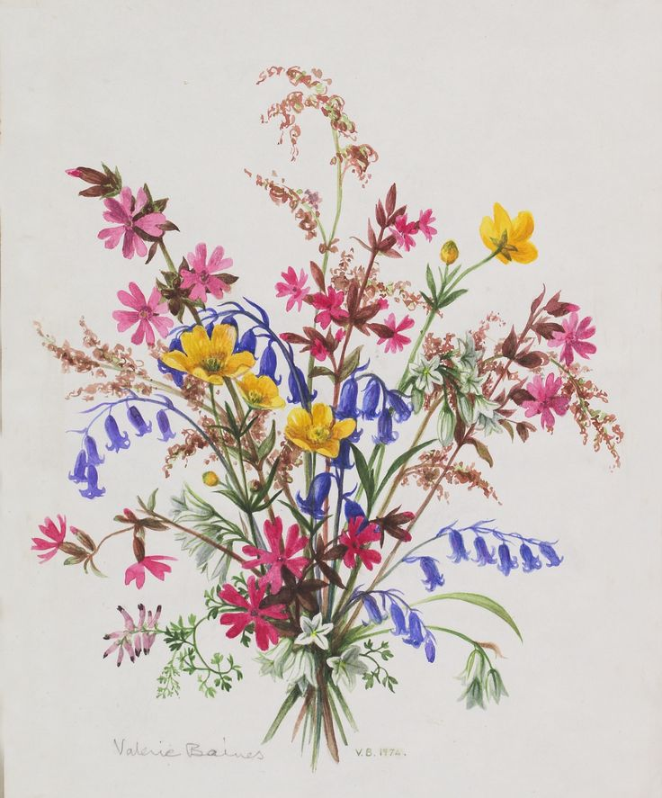 wildflowers tattoo, i've always wanted to get one like this with flowers native to Bishop California, my home town!