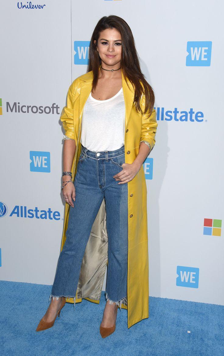 Chaquetas Amarillas Look Celebrity Selena Gomez Victoria Beckham Celine Dion 2