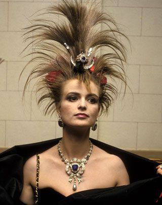Gloria von Thurn und Taxis, The punk princess...