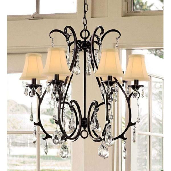 crystal chandy: Crystals Chand, Dining Rooms, Chandelier, Decor Ideas, Lights Fixtures, Choo Kitchens, Ceilings Lights, Kitchens Lights, Pottery Barns