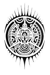 Polynesian Tattoo Symbols   Polynesian tattoo design with quite a lot basic symbols.