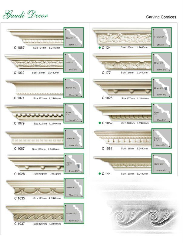 Carving Cornices Buy Ceiling Decorative Cornice Gaudi