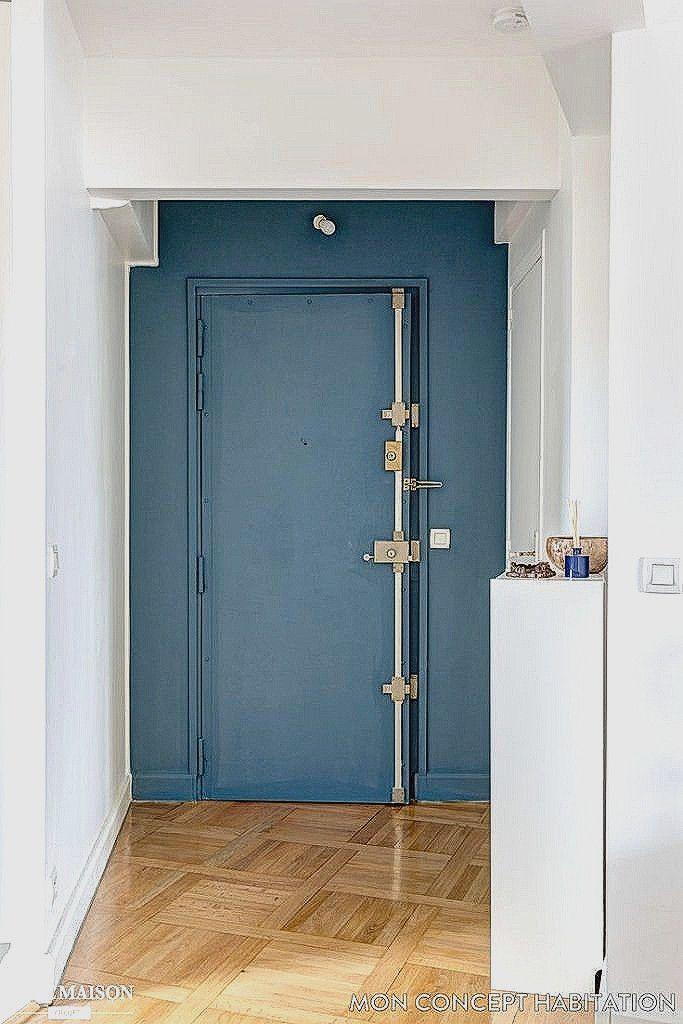 Pingl sur bleu Peinture porte