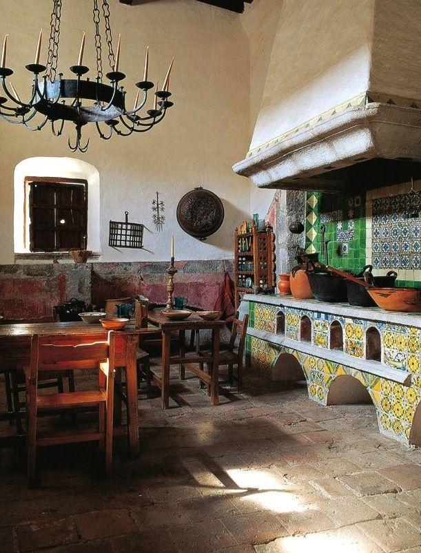 M s de 1000 im genes sobre cocinas mexicanas en pinterest - Cocinas estilo colonial ...
