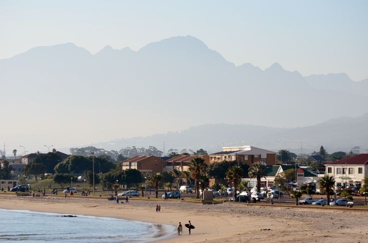 Gordons Bay main beach - even in winter there are days you can enjoy the sea! (Photo taken on 12 June) #GordonsBay #beach