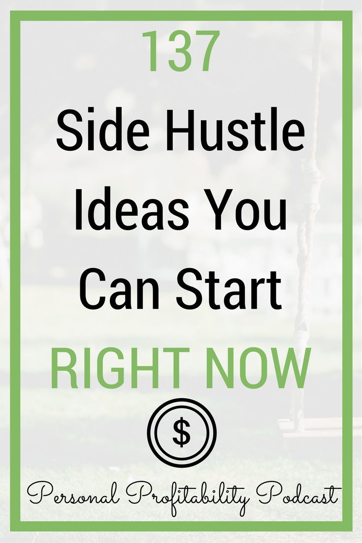 Looking to make more money or start a side hustle? Your guide to the top 137 side hustle ideas here! #sidehustle #personalprofitability #makemoney