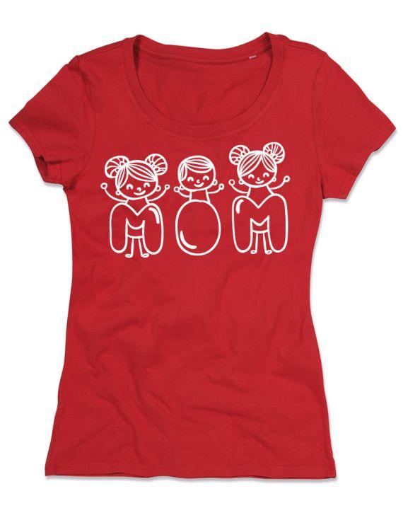 T-shirt personalizzate donna cotone organico festa della mamma 2-03