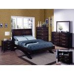 Crown Mark 5 Pc Vera Casual Tropical Hardwood Espresso