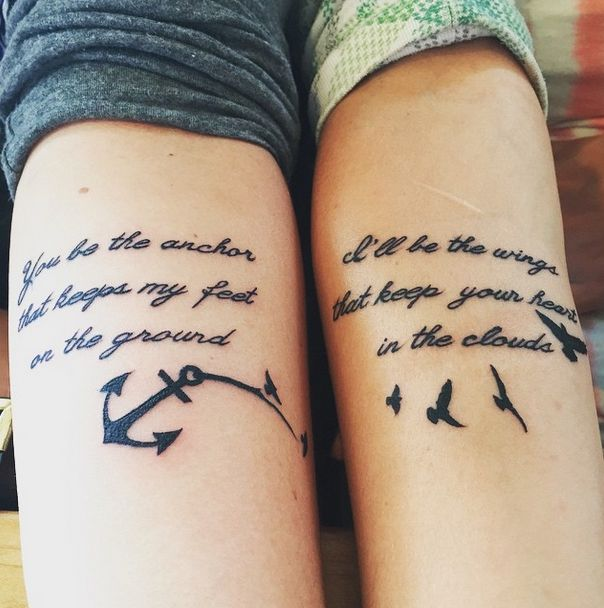 Best 20 Friendship Tattoo Quotes Ideas On Pinterest: Best 20+ Matching Quote Tattoos Ideas On Pinterest