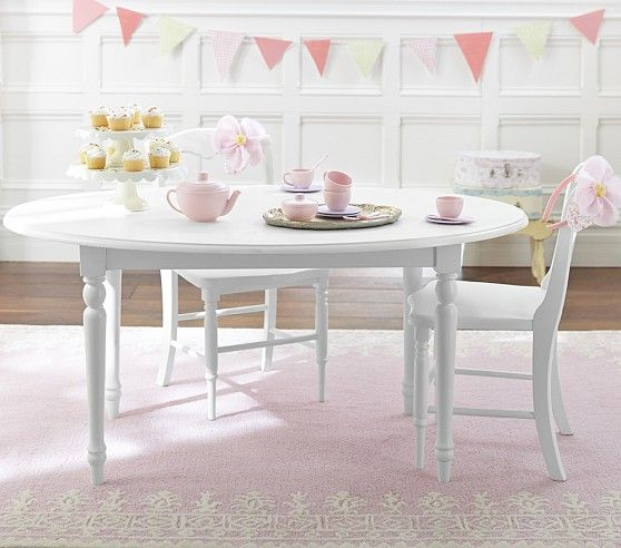 Pottery Barn Kids Table And Chairs For Ava S Room