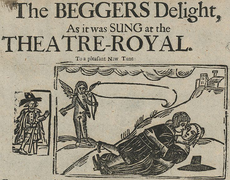 Detail from The BEGGARS Delight