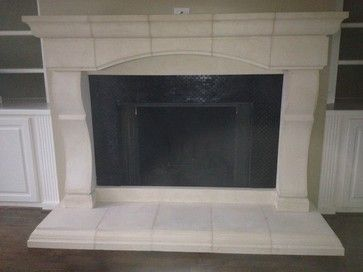 CAST STONE FIREPLACE MANTELS   Mediterranean   Family Room   Atlanta    Southern Stone Crafters LLC. Kaminsims Aus SteinFeuerstellen ...
