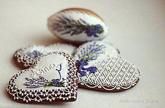 Darčeky pre svadobčanov - levandulové medovníky - 5085308_