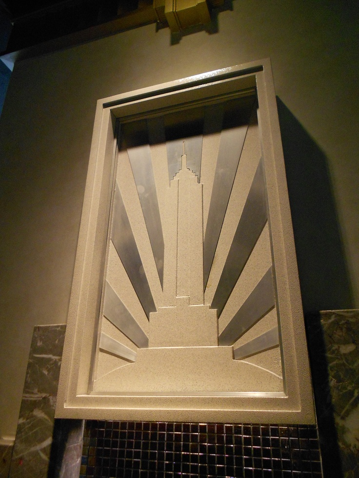 17 best images about empire state of mind on pinterest for Empire state building art deco interior